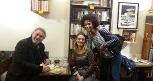 Rencontre au bibliobar Livresse avec Guy Boley et Rachel Kahn - auteurs lauréats.